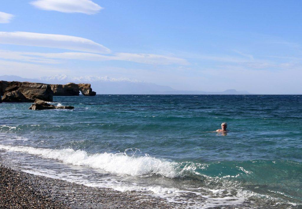 únor Gerapotamos beach