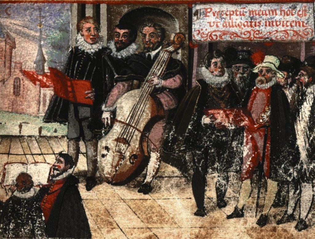 Jediný dochovaný portrét Krčína v bílém klobouku