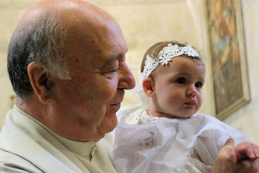 křtiny na Elbě