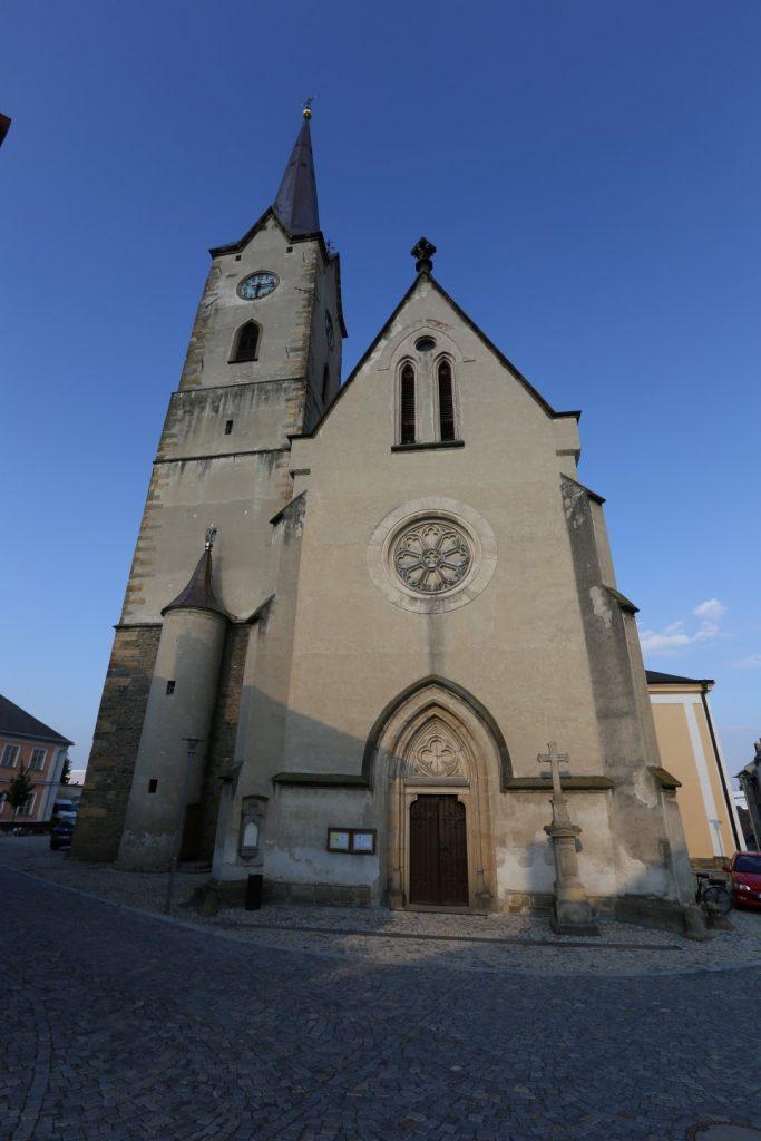 kostel sv. Tomáše z Canterbury.