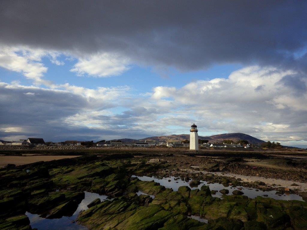 jižní pobřeží Skotska