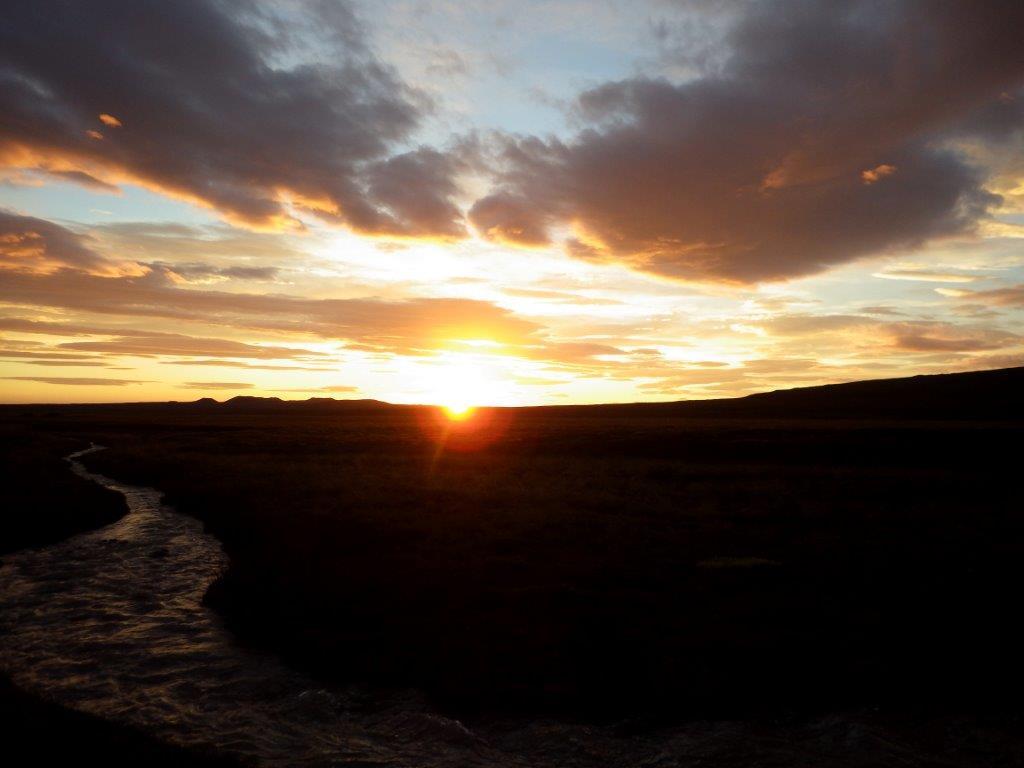 Západ slunce 21.6.