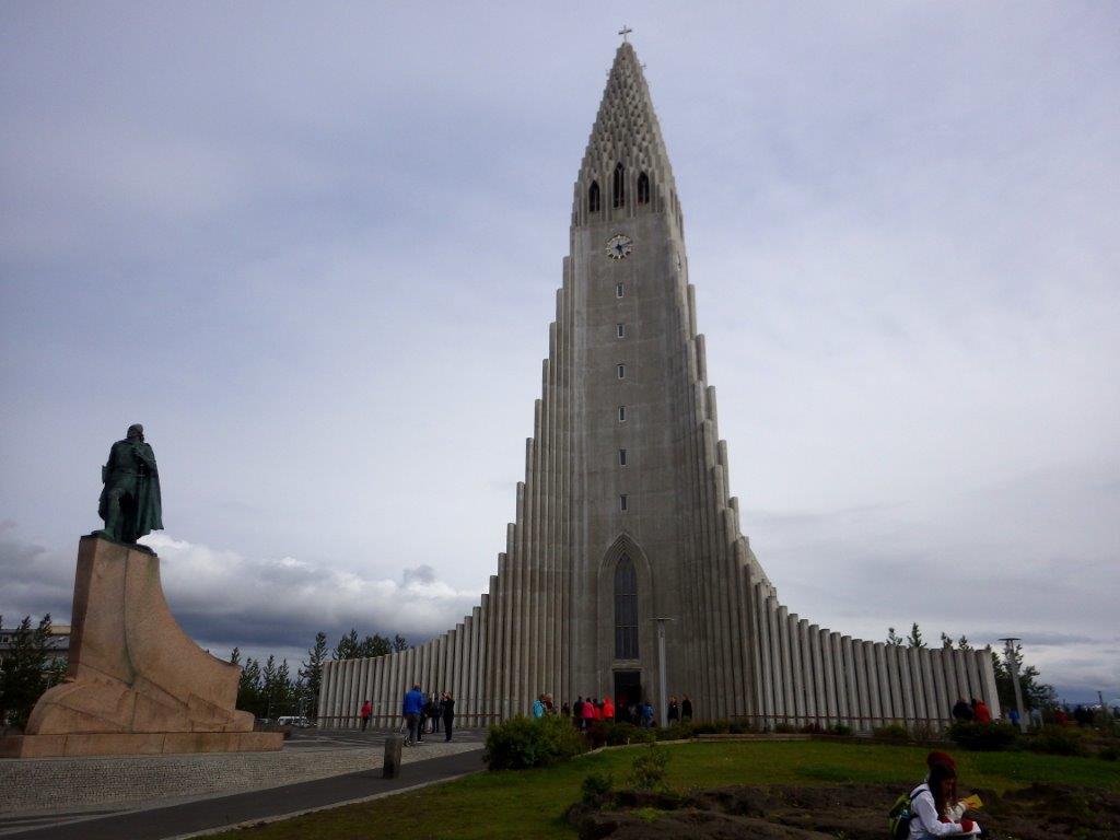 kostel Hallgrímskirkja