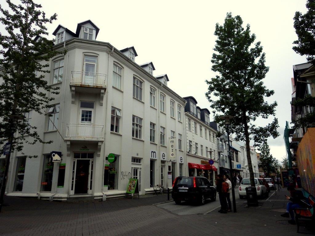 Architektura v Reykjavíku