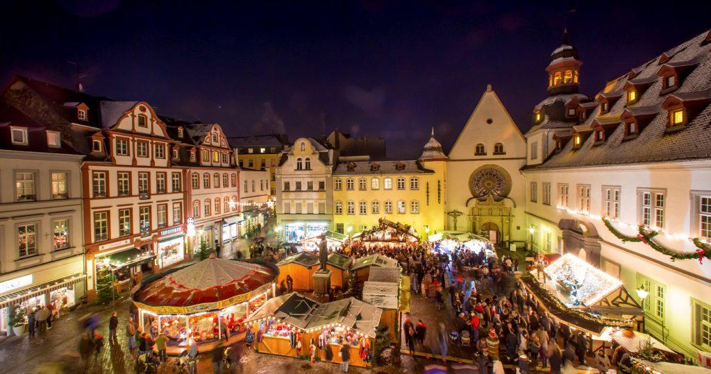 Trhy v Koblenci, copyright Koblenz Touristik