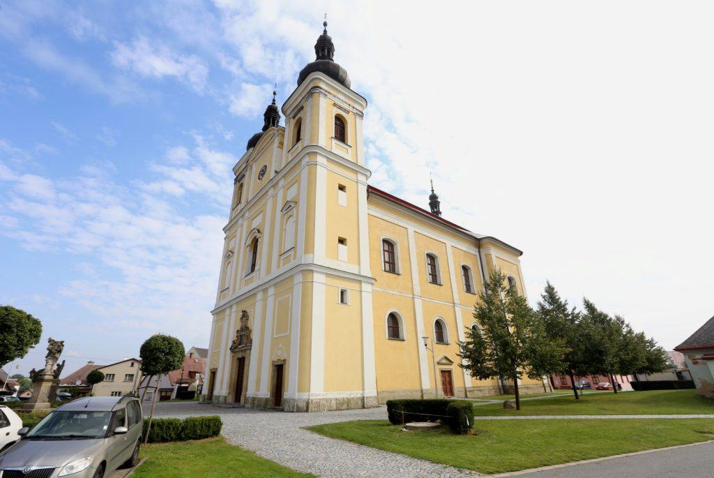 Poutní kostel sv. Jana Křtitele a P.Marie Karmelské