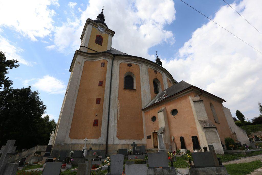 Radiměř kostel sv. Anny